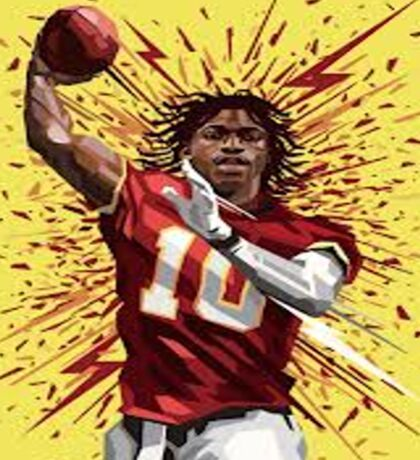 RG3 Shirt Sticker