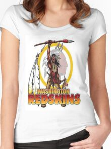 Redskins Tee Women's Fitted Scoop T-Shirt
