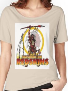 Redskins Tee Women's Relaxed Fit T-Shirt