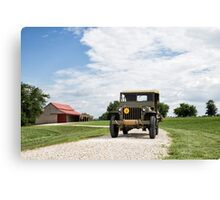 1942 Willys MB Jeep Canvas Print