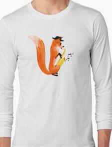 Jazzy Fox Long Sleeve T-Shirt