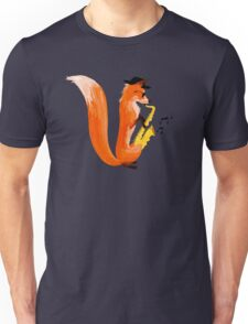Jazzy Fox Unisex T-Shirt