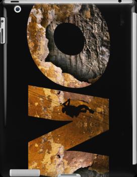 iPad Case.  Overcome! by Alex Preiss