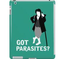 Got parasites? iPad Case/Skin