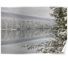 Clarks Creek - Winter in HDR Poster