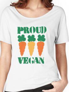 PROUD VEGAN Women's Relaxed Fit T-Shirt