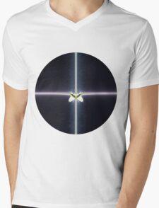 Magic Cross Mens V-Neck T-Shirt