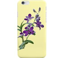 Purple Cymbidium Orchids for iPhone iPhone Case/Skin