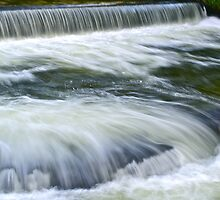 Fast Flowing River Tavy by magicaltrails