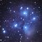 Messier 45 The Pleiades Cluster in Taurus by astrochuck