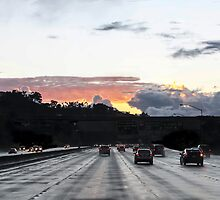 After the Rain, December Dusk, San Diego by heatherfriedman
