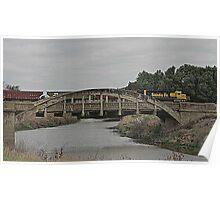 Marsh Arch Bridge and SanteFe Train Poster