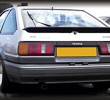Toyota Corolla AE86 (UK Spec) by Deccy43
