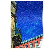 New Orleans French Quarter Colors Louisiana Artwork Poster
