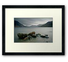 Ullswater Rocks Framed Print