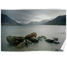 Ullswater Rocks Poster