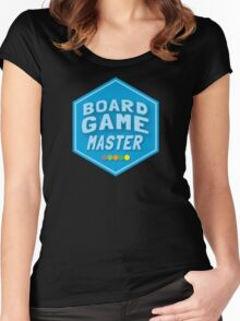 BOARD GAME MASTER (Catan) Women's Fitted Scoop T-Shirt