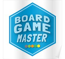 BOARD GAME MASTER (Catan) Poster