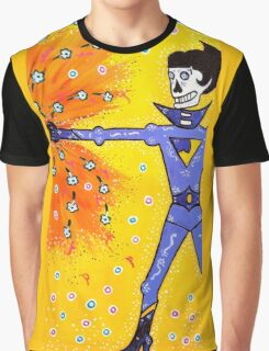 Wonder Twin Jayna Day of the Dead Graphic T-Shirt
