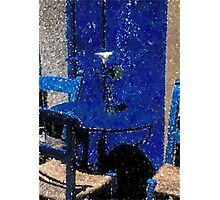 New Orleans French Quarter Table & Chairs Louisiana Artwork Photographic Print