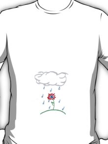 rain will make the flowers grow T-Shirt