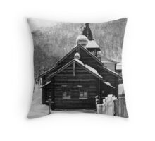 Alexander Nevsky Cathedral. Petropavlovsk, Kamchatka, Russia Throw Pillow