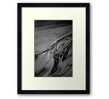 Tidal Tones Framed Print