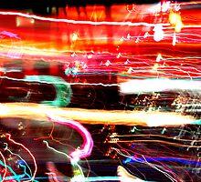 LA lights by davidalf