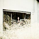 The Girl in the Abandoned House by SunriseBirds