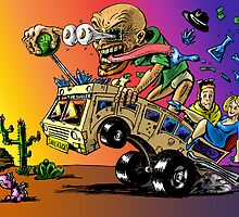 Hot Rod HeisenBerg-Breaking Bad Rat Fink by rawjawbone