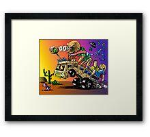 Hot Rod HeisenBerg-Breaking Bad Rat Fink Framed Print