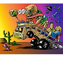 Hot Rod HeisenBerg-Breaking Bad Rat Fink Photographic Print