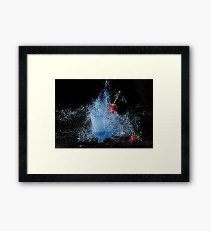 Cocktail Carnage Framed Print
