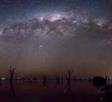 Kow swamp milky way by Robyn Lakeman
