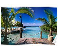 Lagoon View Poster