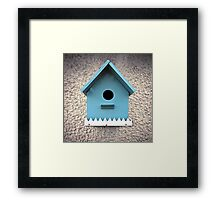 birdhouse in your soul Framed Print