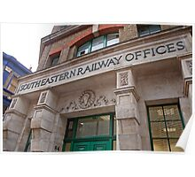 South Eastern Railway Offices Poster