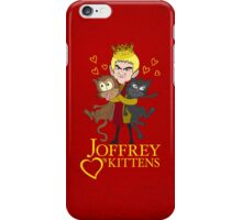 Joffrey Loves Kittens iPhone Case/Skin