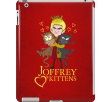 Joffrey Loves Kittens iPad Case/Skin