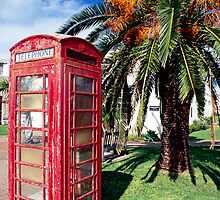 Bermuda Phone Booth by George Oze