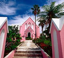 Pink Church by George Oze