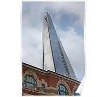 The Shard Building in  London Poster