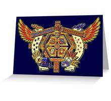 Treasure Hunters Crest Greeting Card