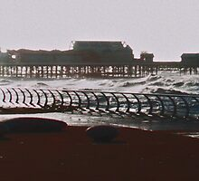 Storm Spectating in Blackpool by Sarah Williams