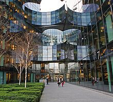 Ernst and Young building in More London Place  by Keith Larby