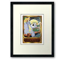 Doomsday Derpy Framed Print