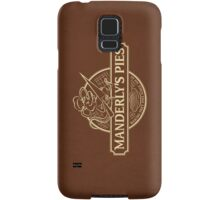 Manderly's Pies (in tan) Samsung Galaxy Case/Skin