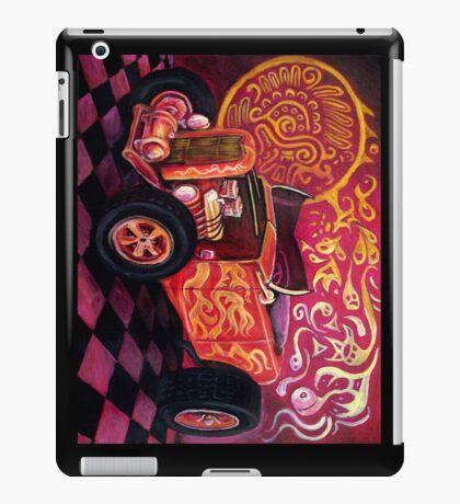 Quetzacoatl's Funny Car Ipad case iPad Case/Skin