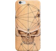 Skull for ceremony iPhone Case/Skin