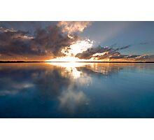 GLORY -Redland Bay Qld Australia Photographic Print